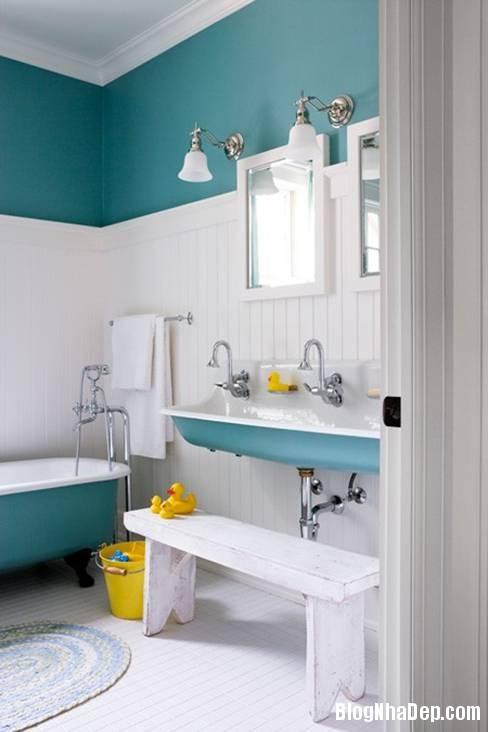 16 Thiết kế phòng tắm cho trẻ
