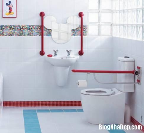 19 Thiết kế phòng tắm cho trẻ