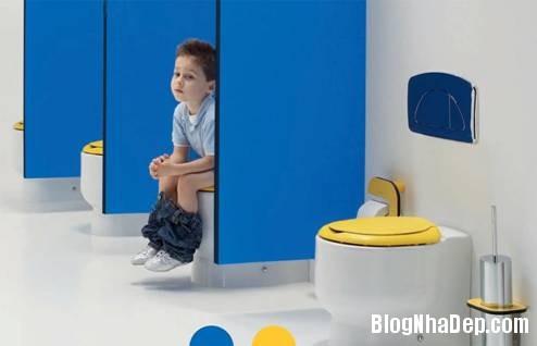 20 Thiết kế phòng tắm cho trẻ