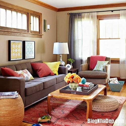 20131108074507865 Bí quyết trang trí phòng khách với tông màu ấm
