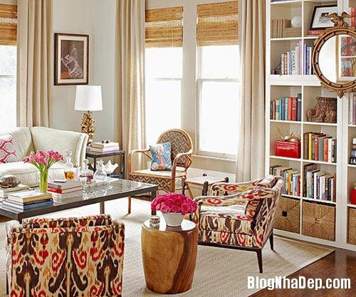 20131108074509331 Bí quyết trang trí phòng khách với tông màu ấm