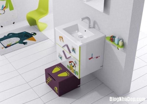 20131224081805737 Mẫu thiết kế phòng tắm đẹp cho bé yêu