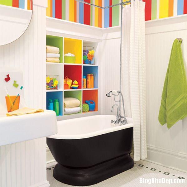 20131224081806065 Mẫu thiết kế phòng tắm đẹp cho bé yêu