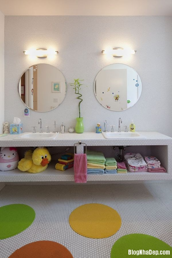 20131224081807485 Mẫu thiết kế phòng tắm đẹp cho bé yêu
