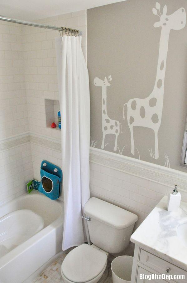 20131224081809871 Mẫu thiết kế phòng tắm đẹp cho bé yêu