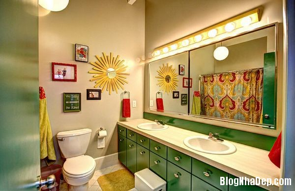 20131224081813803 Mẫu thiết kế phòng tắm đẹp cho bé yêu