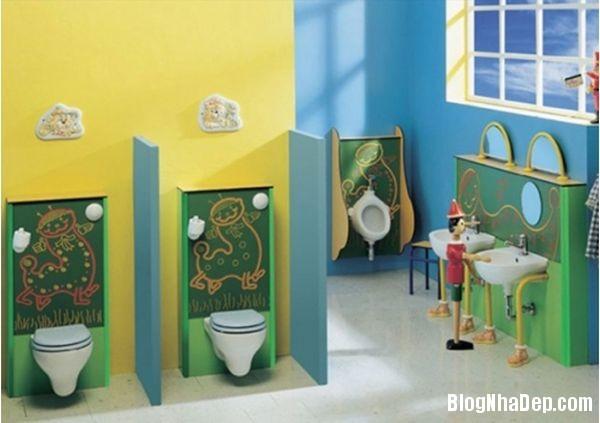 20131224081823038 Mẫu thiết kế phòng tắm đẹp cho bé yêu
