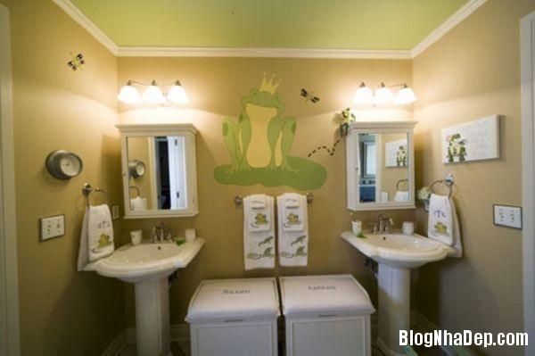 20131224081831961 Mẫu thiết kế phòng tắm đẹp cho bé yêu