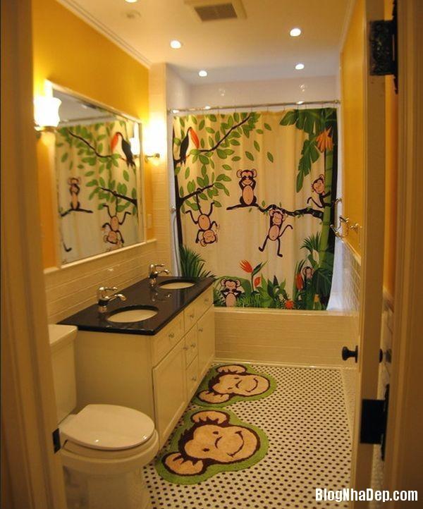 20131224081832975 Mẫu thiết kế phòng tắm đẹp cho bé yêu