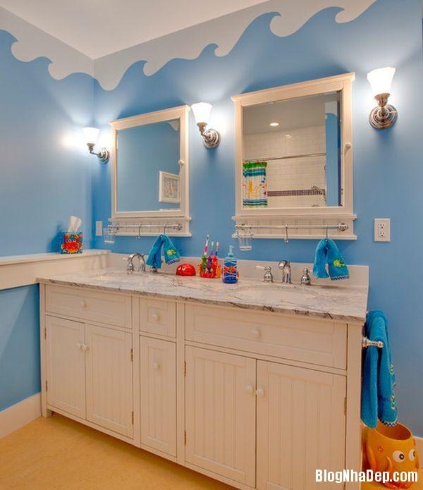 20131224081838482 Mẫu thiết kế phòng tắm đẹp cho bé yêu