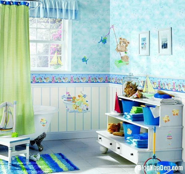 20131224081842897 Mẫu thiết kế phòng tắm đẹp cho bé yêu