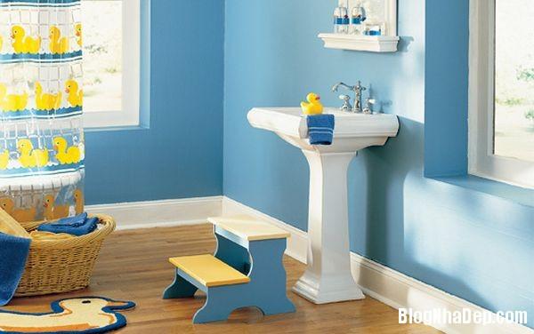 20131224081844706 Mẫu thiết kế phòng tắm đẹp cho bé yêu