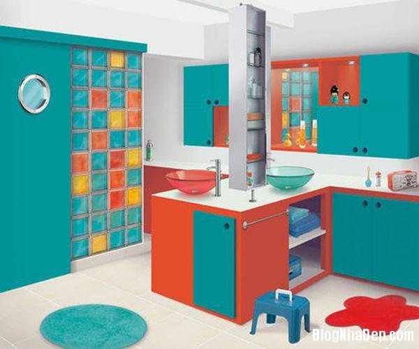20131224081846609 Mẫu thiết kế phòng tắm đẹp cho bé yêu