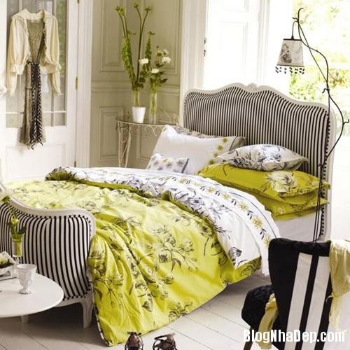 20131230020911400 Chọn ga giường tươi sáng cho phòng ngủ