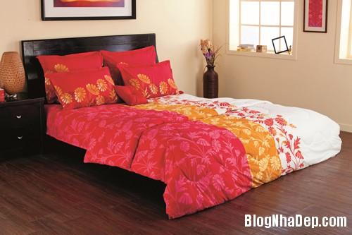 20131230020912508 Chọn ga giường tươi sáng cho phòng ngủ