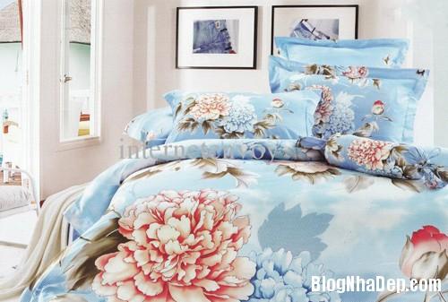 20131230020913132 Chọn ga giường tươi sáng cho phòng ngủ