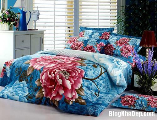 20131230020915643 Chọn ga giường tươi sáng cho phòng ngủ