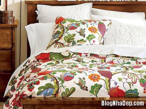 20131230020918545 Chọn ga giường tươi sáng cho phòng ngủ