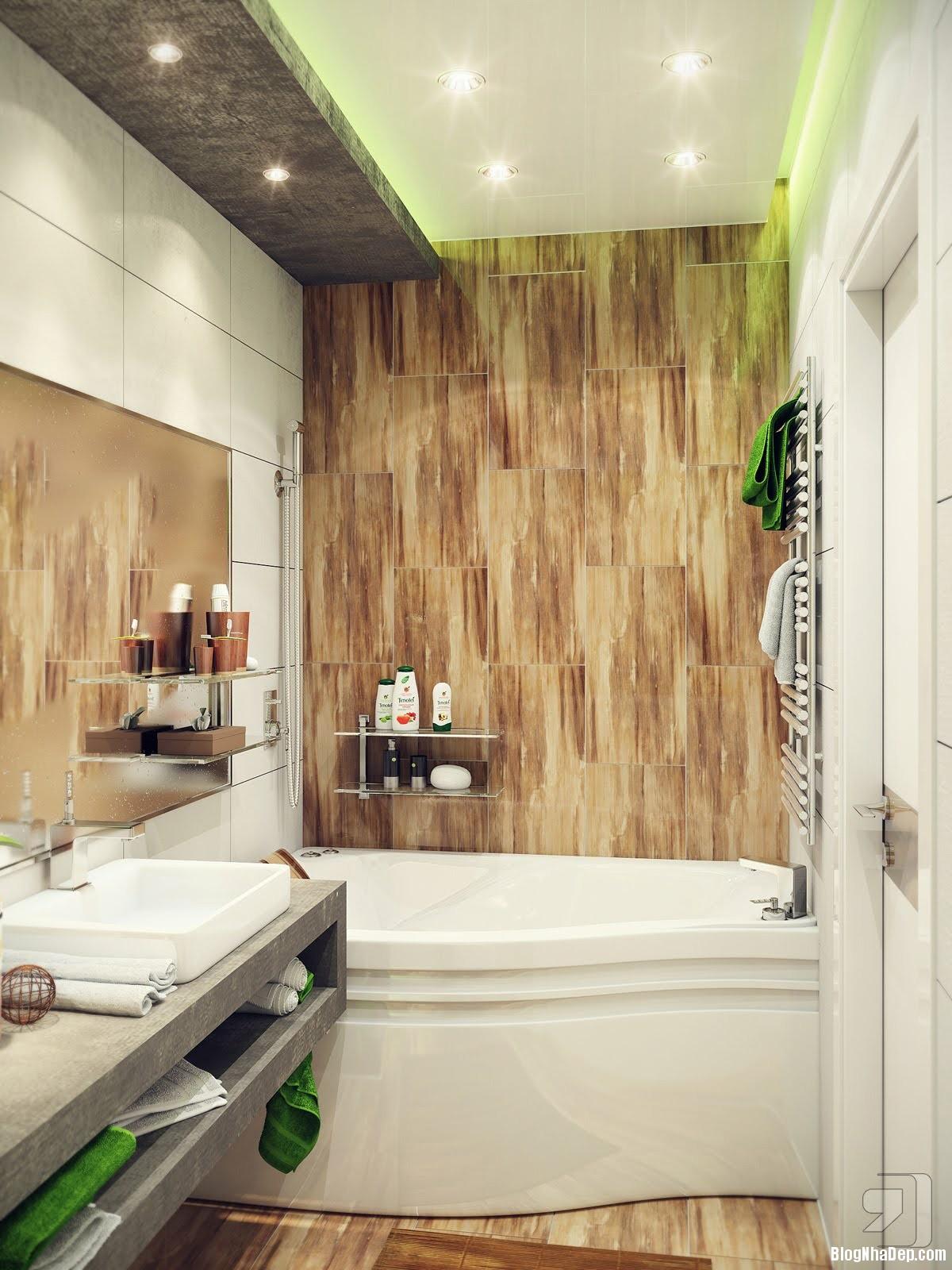 20140718012353130 Tham khảo cách bố trí cho phòng tắm nhỏ