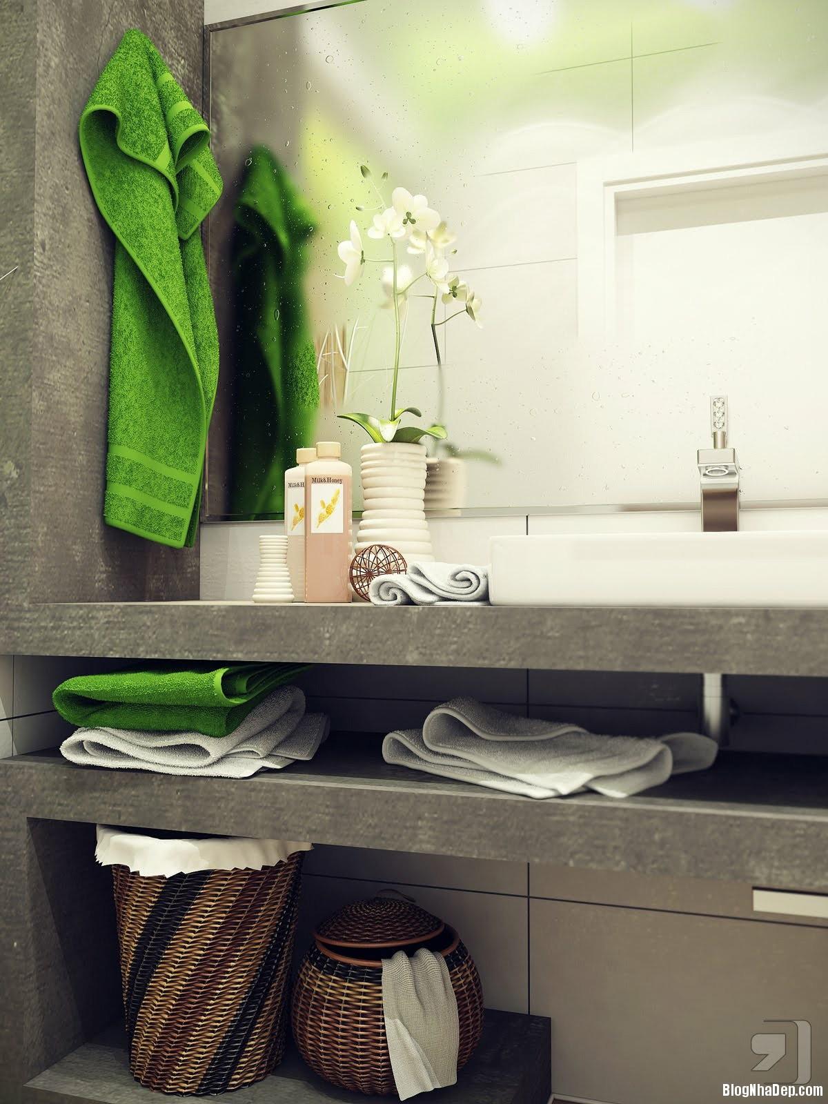 20140718012353848 Tham khảo cách bố trí cho phòng tắm nhỏ