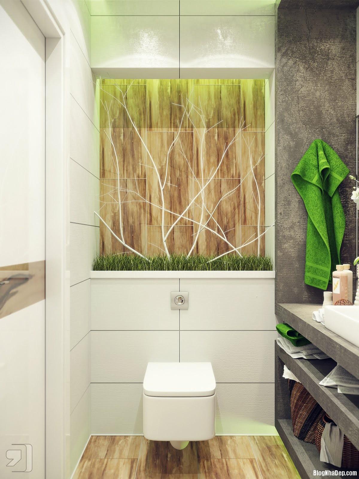 20140718012355954 Tham khảo cách bố trí cho phòng tắm nhỏ