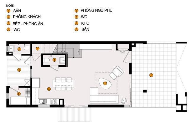 20140718075216443 Thiết kế không gian sống cho gia đình đông người