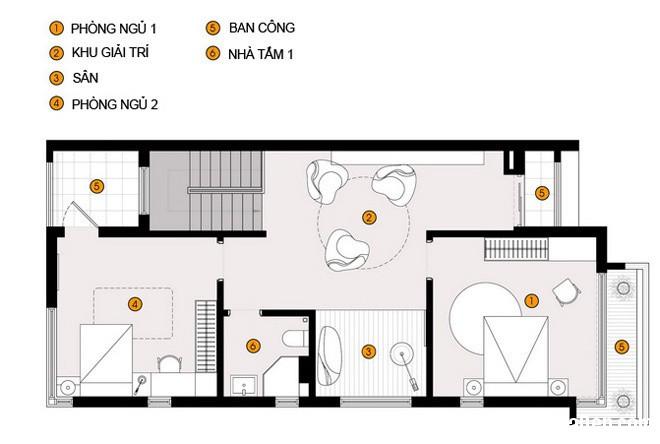 20140718075217036 Thiết kế không gian sống cho gia đình đông người