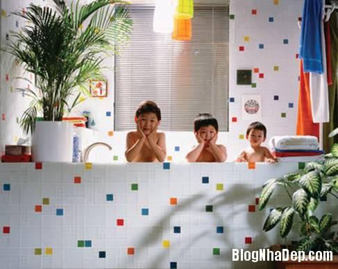 21 Thiết kế phòng tắm cho trẻ