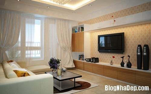 229201404797243 1405094454 Chọn mẫu giấy dán tường đẹp tô điểm phòng khách