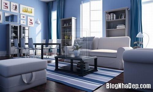 233246baoxaydung 4 Bố trí đơn giản cho không gian phòng khách