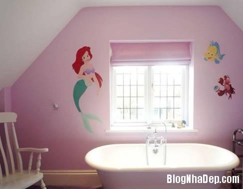 4 Thiết kế phòng tắm cho trẻ