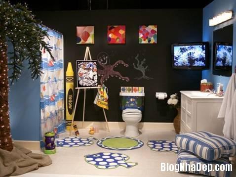 5 Thiết kế phòng tắm cho trẻ