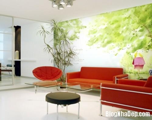 523861404797243 1405094522 Chọn mẫu giấy dán tường đẹp tô điểm phòng khách