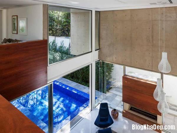 Hình 12 thiết kế nhà đẹp với sự sáng tạo trong không gian MG Residence   Nhà hiện đại nằm ở ngoại ô Brazil