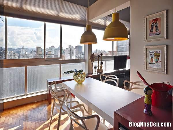 Hình 13 Mẫu nhà cung cư đẹp1 Mẫu chung cư đầy màu sắc ở Brazil