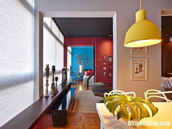 Hình 14 Mẫu nhà cung cư đẹp1 Mẫu chung cư đầy màu sắc ở Brazil
