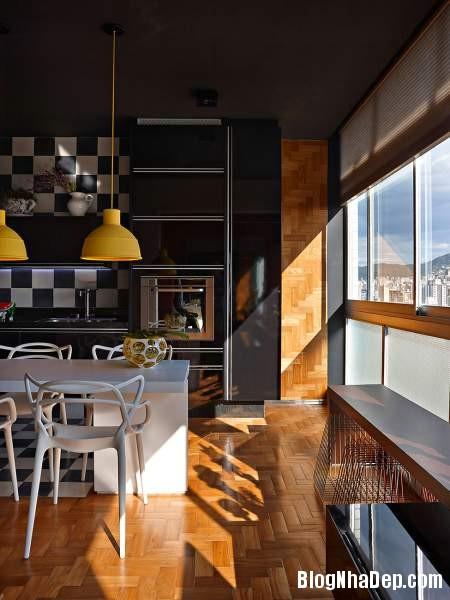 Hình 15 Mẫu nhà cung cư đẹp2 Mẫu chung cư đầy màu sắc ở Brazil