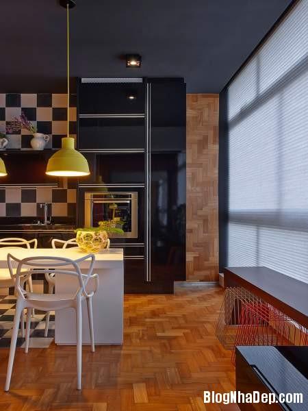 Hình 16 Mẫu nhà cung cư đẹp1 Mẫu chung cư đầy màu sắc ở Brazil