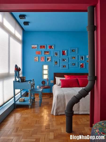 Hình 17 Mẫu nhà cung cư đẹp1 Mẫu chung cư đầy màu sắc ở Brazil