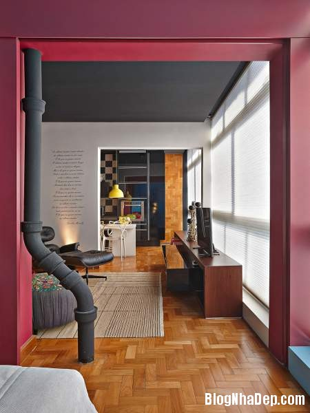 Hình 18 Mẫu nhà cung cư đẹp2 Mẫu chung cư đầy màu sắc ở Brazil