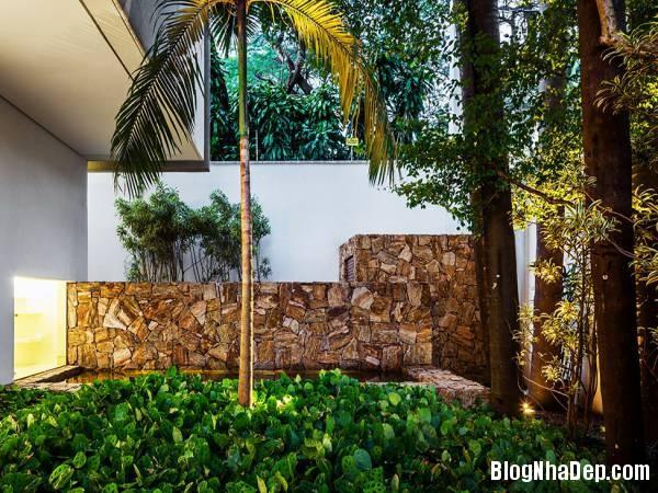 Hình 19 thiết kế nhà đẹp với sự sáng tạo trong không gian MG Residence   Nhà hiện đại nằm ở ngoại ô Brazil