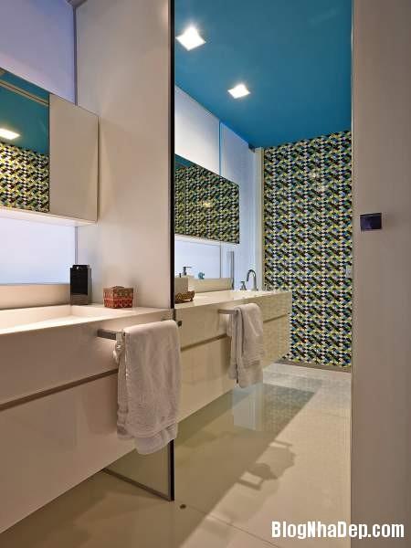 Hình 21 Mẫu nhà cung cư đẹp1 Mẫu chung cư đầy màu sắc ở Brazil