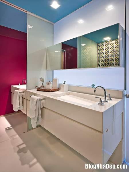 Hình 22 Mẫu nhà cung cư đẹp1 Mẫu chung cư đầy màu sắc ở Brazil