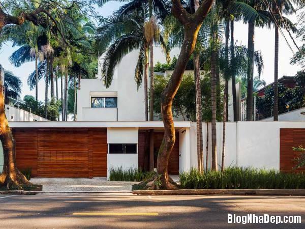 Hình 3 thiết kế nhà đẹp với sự sáng tạo trong không gian MG Residence   Nhà hiện đại nằm ở ngoại ô Brazil