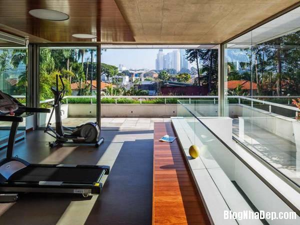 Hình 4 thiết kế nhà đẹp với sự sáng tạo trong không gian MG Residence   Nhà hiện đại nằm ở ngoại ô Brazil