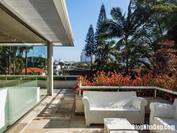Hình 5 thiết kế nhà đẹp với sự sáng tạo trong không gian MG Residence   Nhà hiện đại nằm ở ngoại ô Brazil
