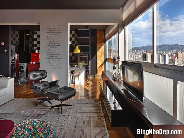 Hình 7 Mẫu nhà cung cư đẹp1 Mẫu chung cư đầy màu sắc ở Brazil