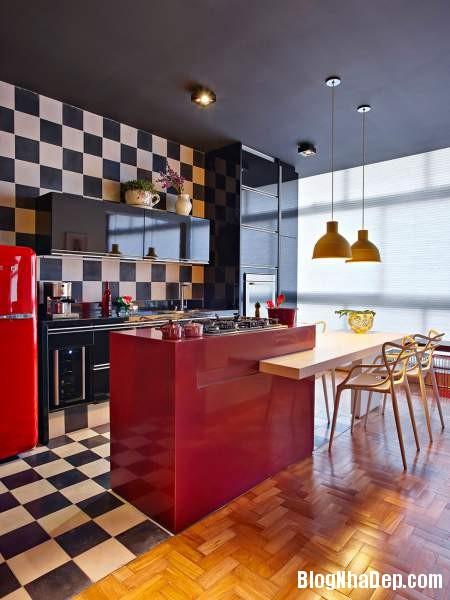 Hình 8 Mẫu nhà cung cư đẹp1 Mẫu chung cư đầy màu sắc ở Brazil