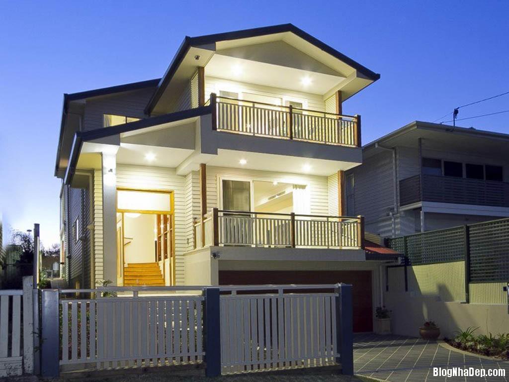 Luxury Home Design with Contemporary Environment Concept Pic Ngôi nhà đẹp với kiến trúc giản dị vùng ở Queensland