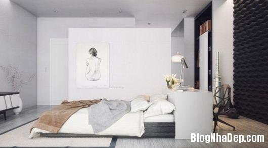Modern Bedroom 10 600x331 Những phòng ngủ gam màu trung tính